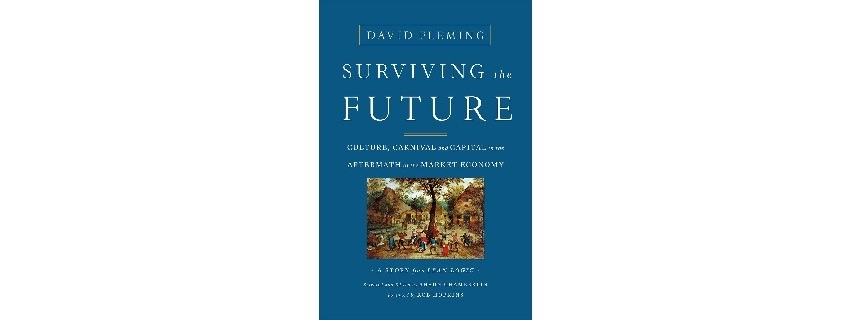 Surviving the future book cover
