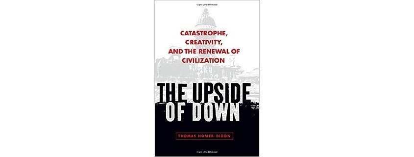 The upside of down book cover